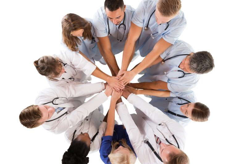 Medical Team all hands in